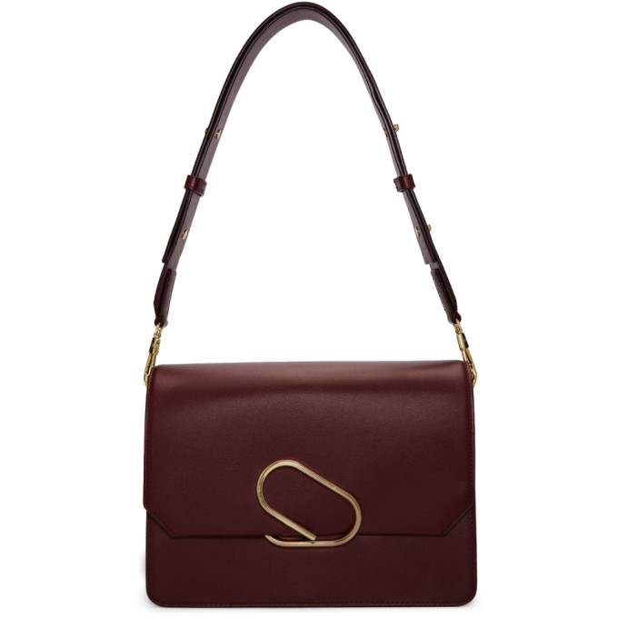 3.1 Phillip Lim Burgundy Alix Shoulder Bag