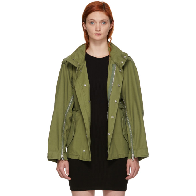31 Phillip Lim Green Field Jacket
