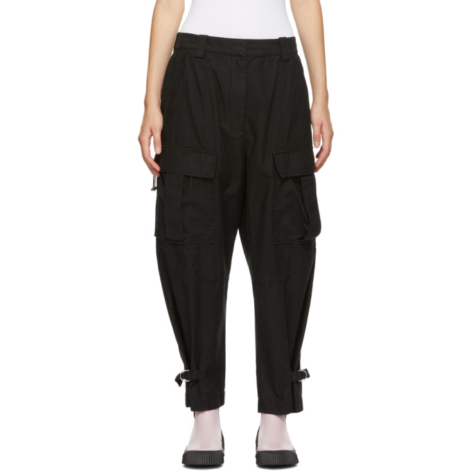 31 Phillip Lim Black Utility Cargo Trousers