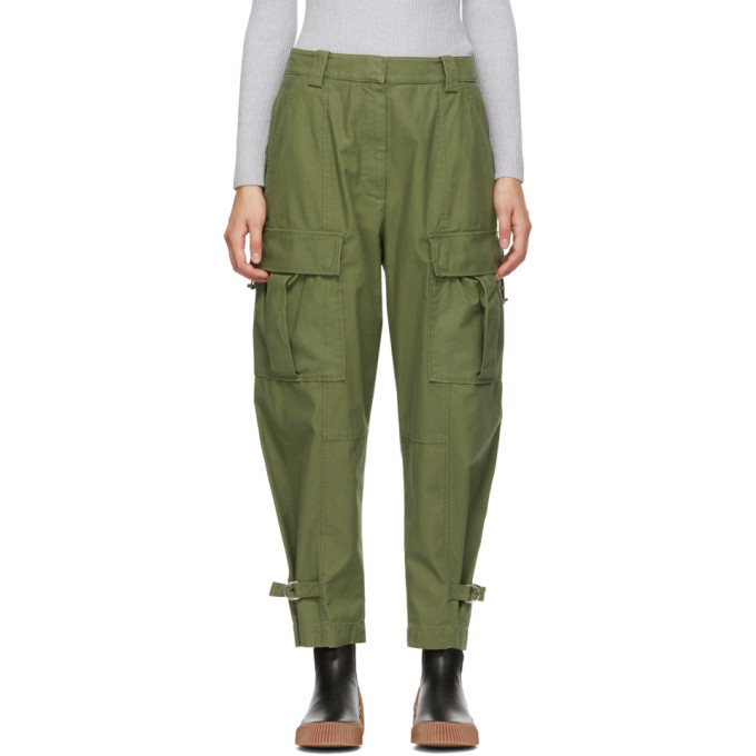 31 Phillip Lim Green Utility Cargo Trousers