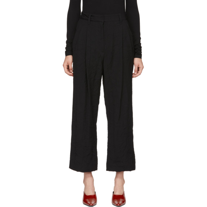 31 Phillip Lim Black Cropped Trousers
