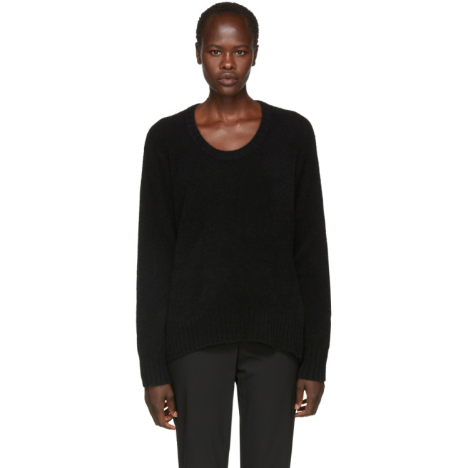 31 Phillip Lim Black Wool and Alpaca Sweater