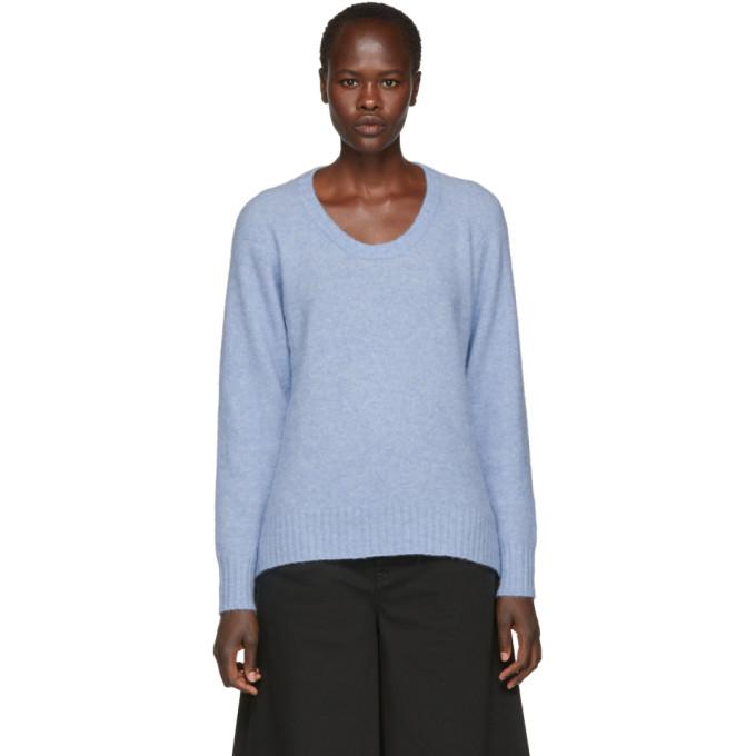 31 Phillip Lim Blue Wool and Alpaca Sweater