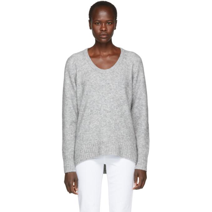 31 Phillip Lim Grey Wool Alpaca Sweater