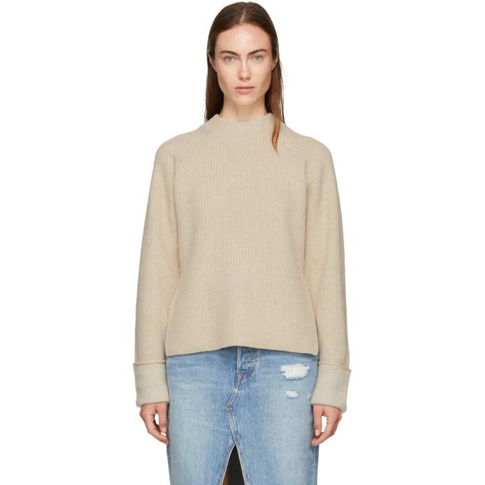 31 Phillip Lim Beige Wool Blend Sweater