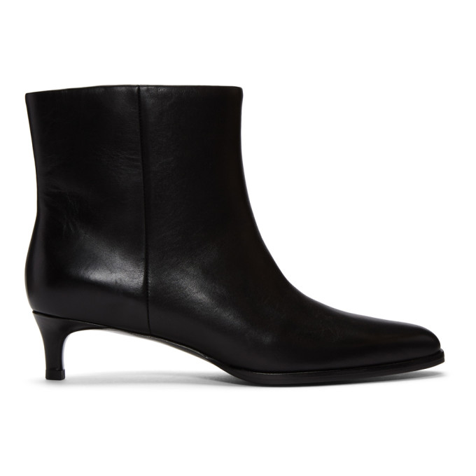 Image of 3.1 Phillip Lim Black Agatha Ankle Boots