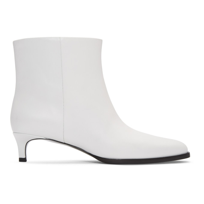 31 Phillip Lim White Agatha Ankle Boots