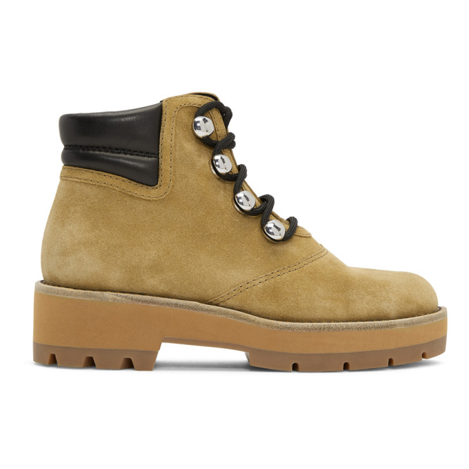 Image of 3.1 Phillip Lim Beige Dylan Hiking Boots
