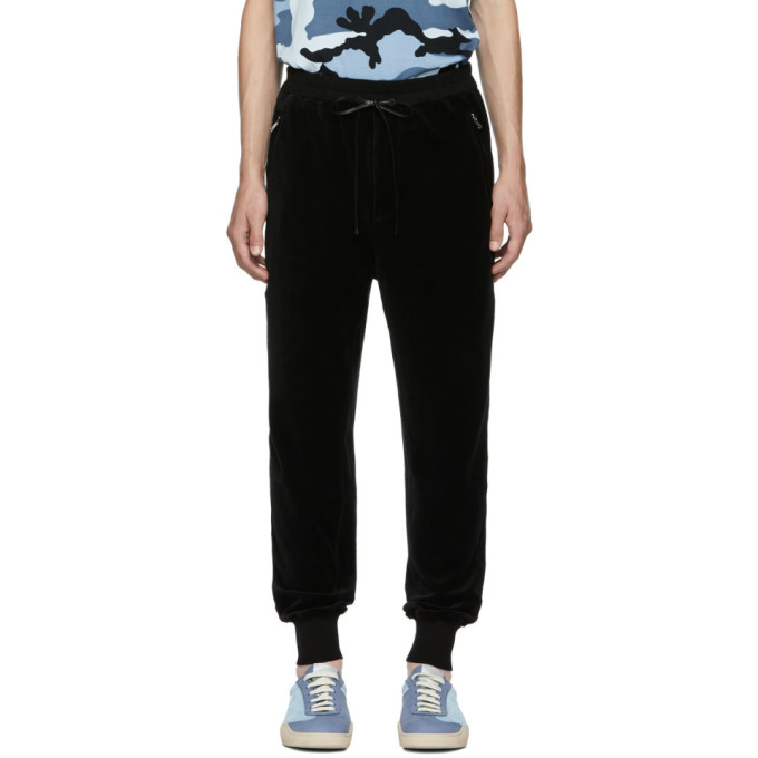 31 Phillip Lim Black Cropped Sweatpants