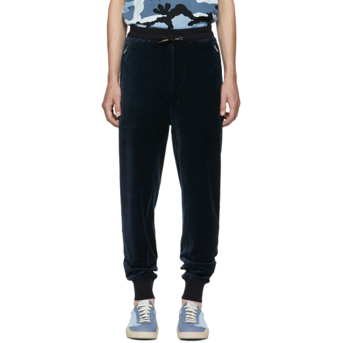 3.1 Phillip Lim Navy Cropped Sweatpants