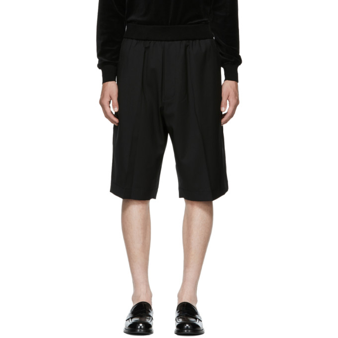 31 Phillip Lim Black Tapered Shorts