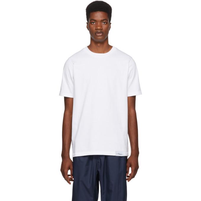 3.1 Phillip Lim White Perfect T Shirt