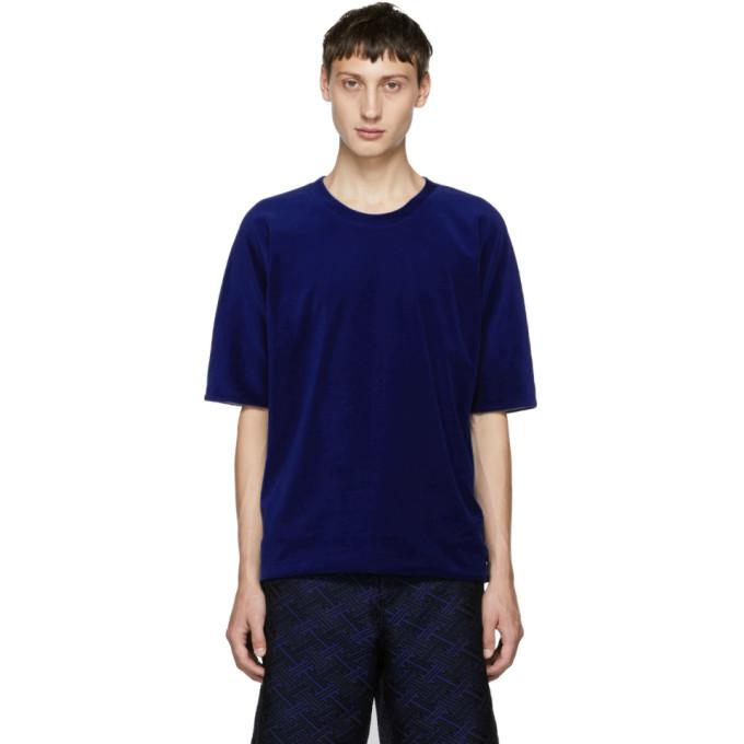 31 Phillip Lim Blue Reversible Vintage T Shirt