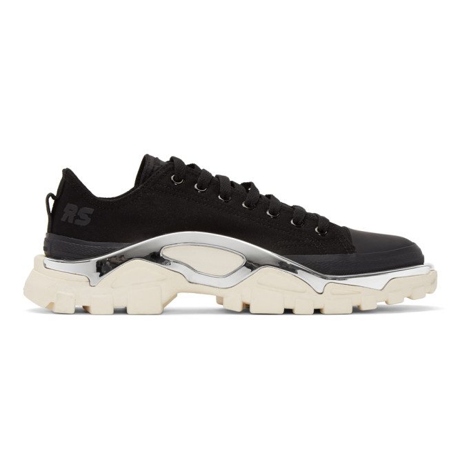 Raf Simons Black & White adidas Originals Edition RS Detroit Runner Sneakers