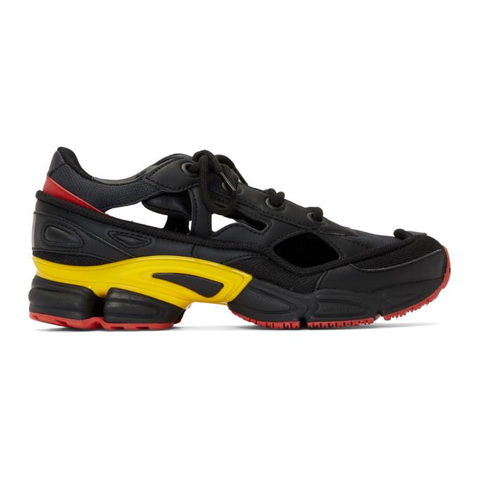 Raf Simons Black & Grey adidas Originals Edition RS Replicant Ozweego Sneakers