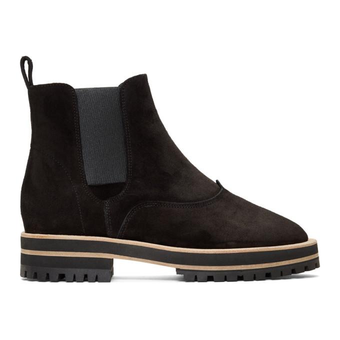 REPETTO Repetto Black Suede Graham Boots in 410 Black