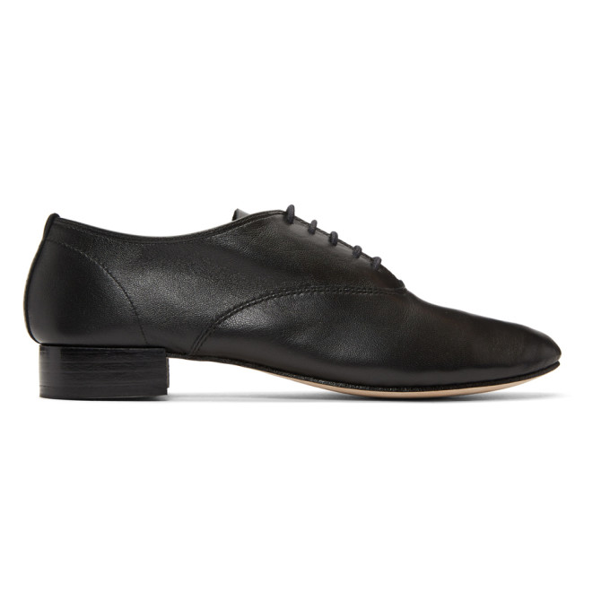 Repetto Black Zizi Oxfords