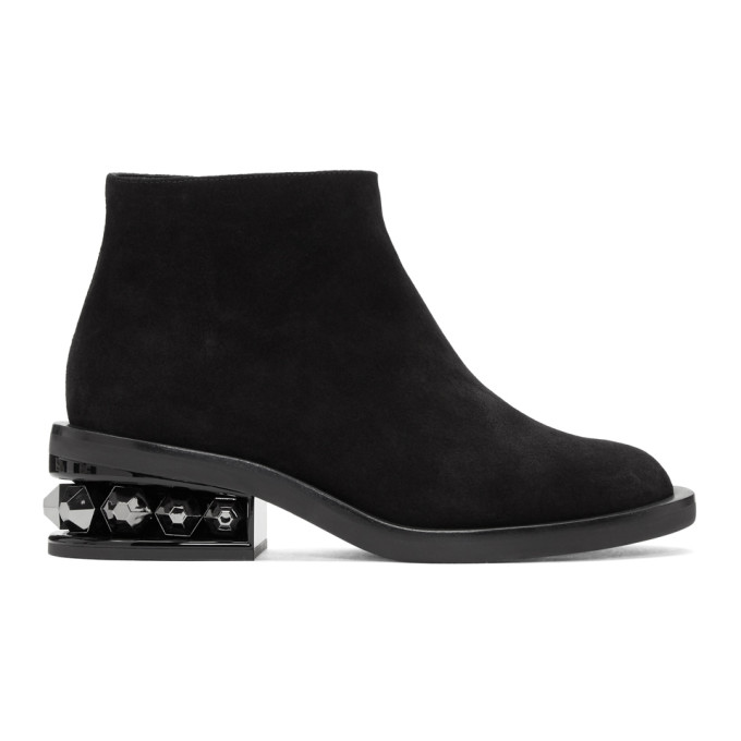 Nicholas Kirkwood Black Suzi Ankle Boots