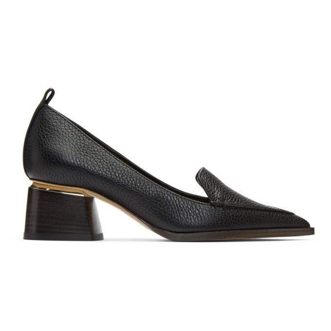 Image of Nicholas Kirkwood Black Beya Block Heels
