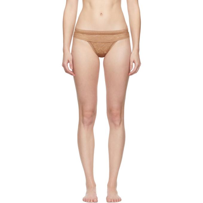 Calvin Klein Underwear Tan Obsess Thong