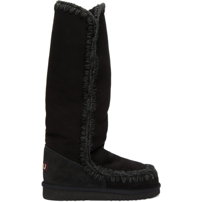 Image of Mou Black Eskimo 40 Boots