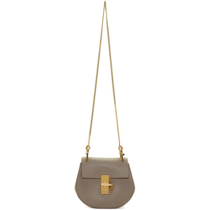 Chloe Grey Mini Drew Bag