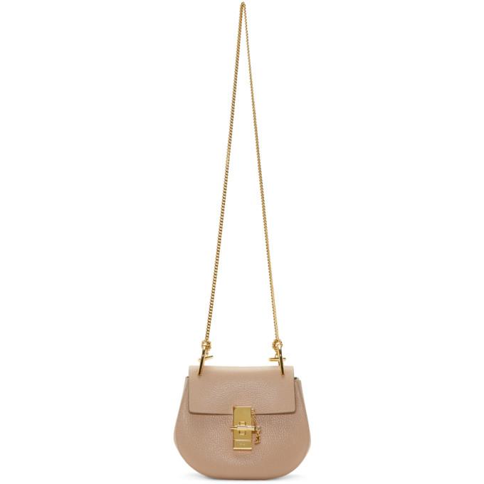 Chloe Pink Mini Drew Bag