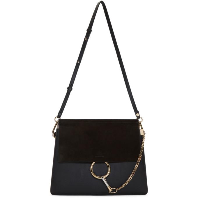 Chloe Black Medium Faye Bag