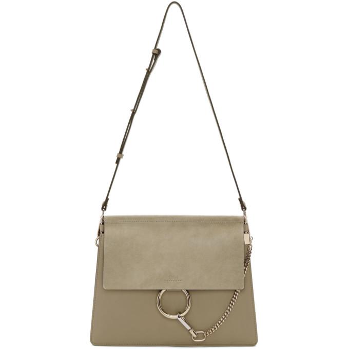 Chloe Grey Medium Faye Bag