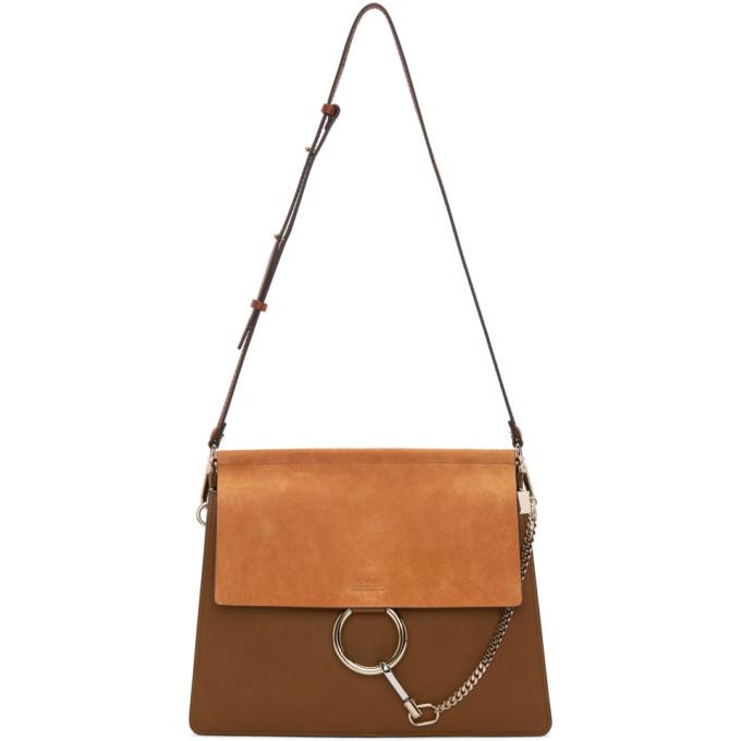 Chloe Tan Medium Faye Bag