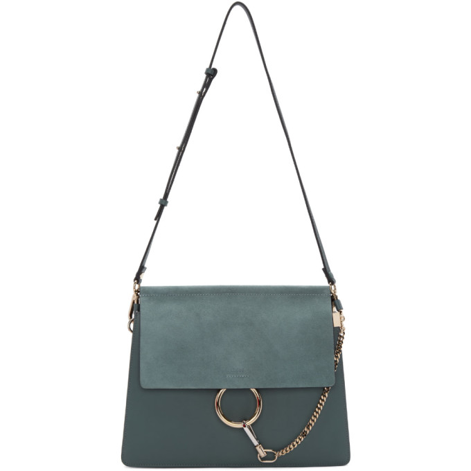 Chloe Blue Medium Faye Bag