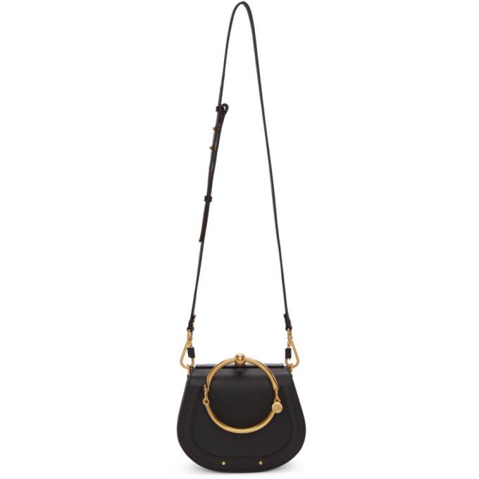 Chloe Black Small Nile Bracelet Bag