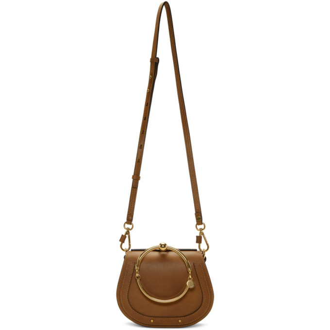 Chloe Tan Small Nile Bracelet Bag