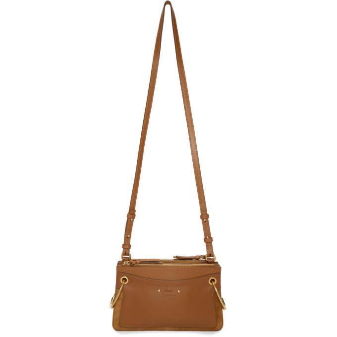 b257e65e Chloe Tan Mini Roy Double Zip Bag