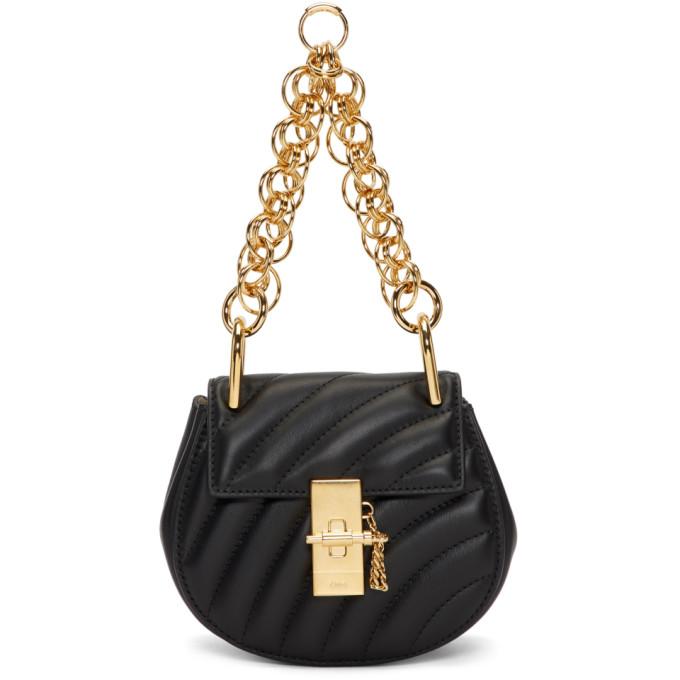 Chloe Black Nano Drew Bijou Bag