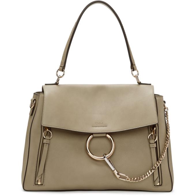 Chloe Grey Medium Faye Day Bag