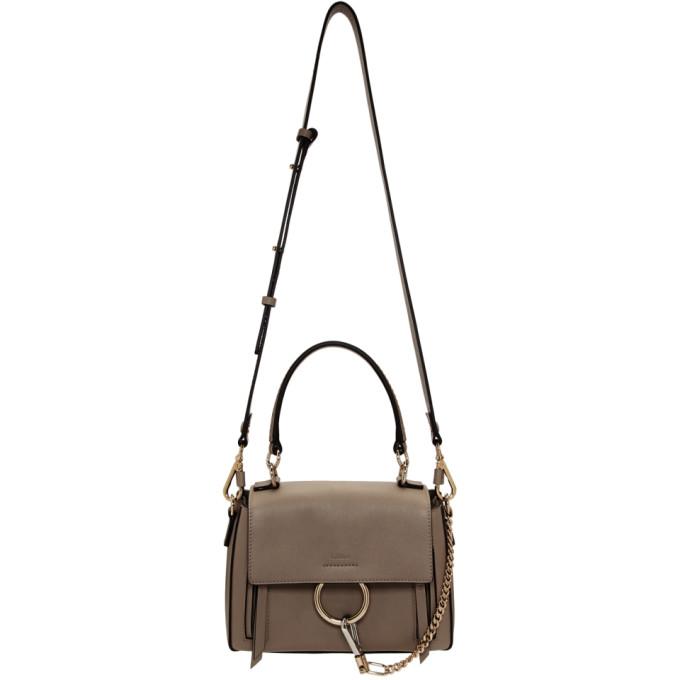 Chloe Grey Mini Faye Day Bag