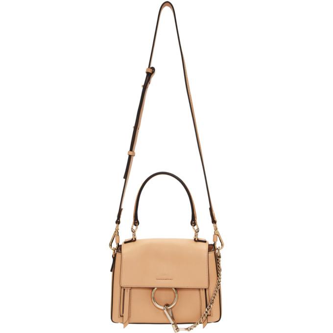 Chloe Pink Mini Faye Day Bag