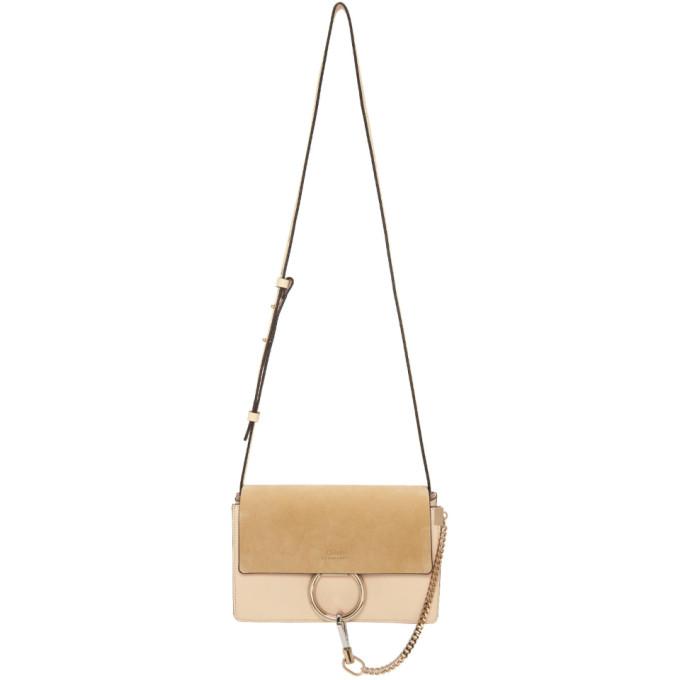 Chloe Pink Small Faye Bag