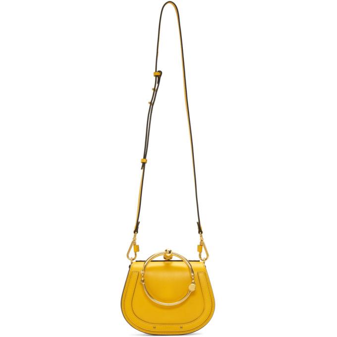 Chloe Yellow Small Nile Bracelet Bag