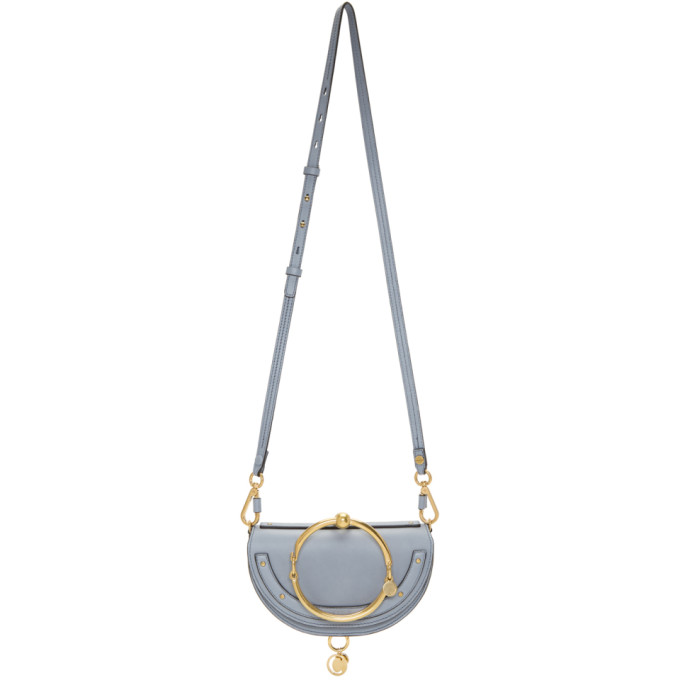 Chloe Blue Nile Minaudiere Bag
