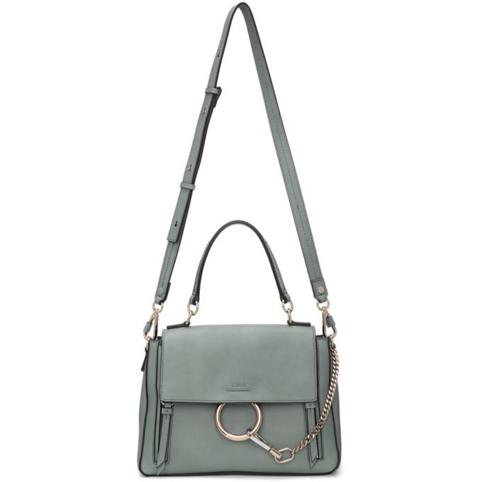 Chloe Blue Small Faye Day Bag