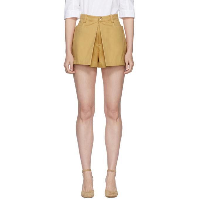 Chloe Beige Skirt Shorts