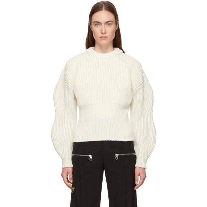 ac8aa9c0dd10 Chloe White Chunky Wool Sweater