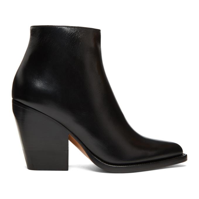 Chloe Black Rylee Low Boots