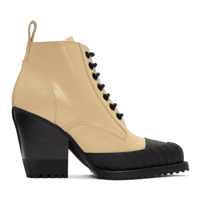 Chloe Yellow Rylee Hiking Boots