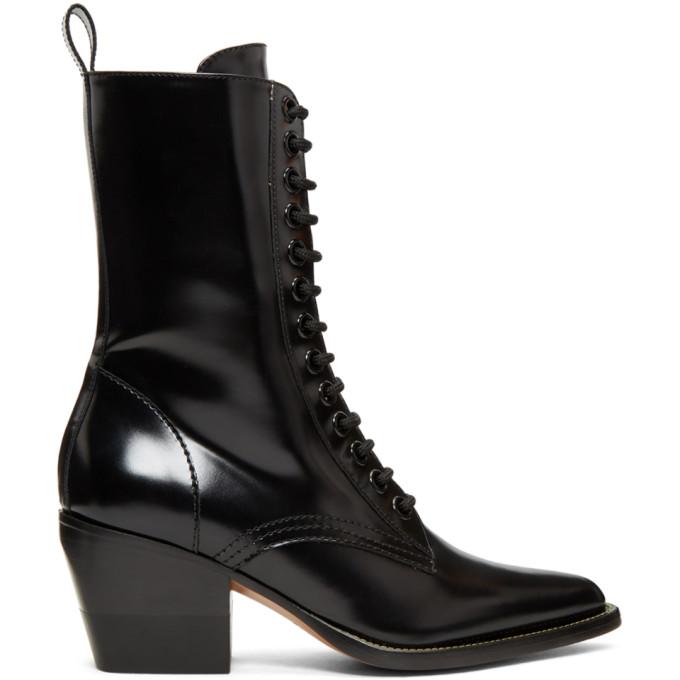 Chloe Black Rylee Medium Boots