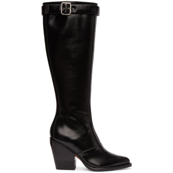 Chloe Black Tall Boots
