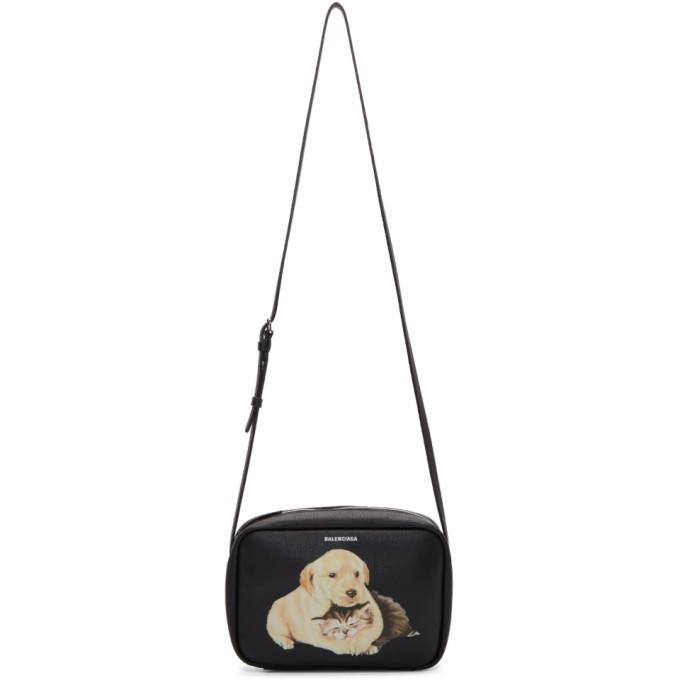Balenciaga Black Small Everyday Camera Bag