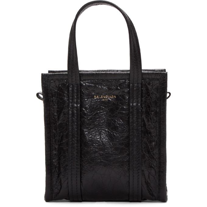 Balenciaga Black XXS Bazar Shopper Tote
